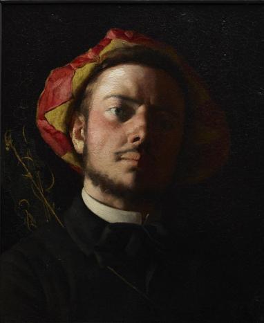 Frédéric_Bazille_-_Portrait_de_Paul_Verlaine_comme_une_Troubadour
