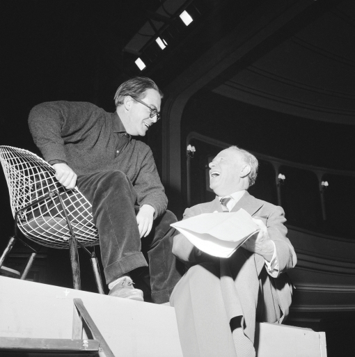 Schauspielhaus, Aufführung von Stücken von Max Frisch
