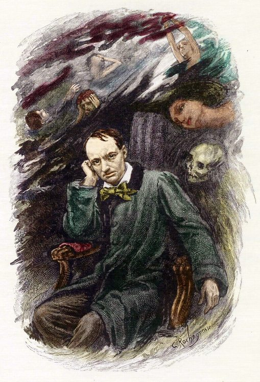 Baudelaire Charles Rochegrosse