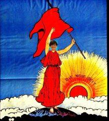 SPD-Plakat 1919zugeschnittenmit Saskia