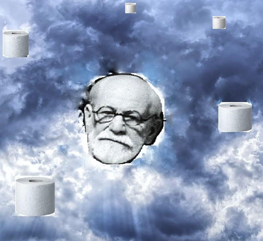 Freud Portraät Wolken